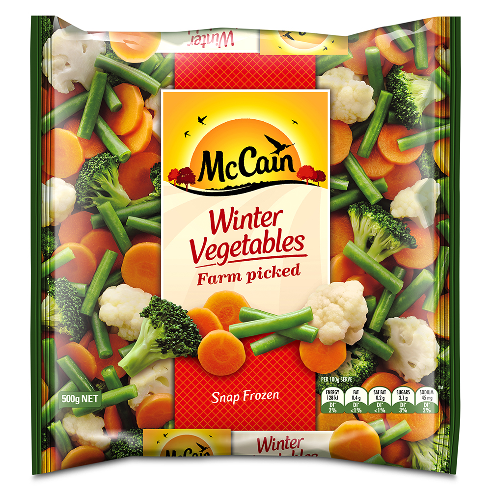 Winter Vegetables 500g Frozen Food Vegetables Chips