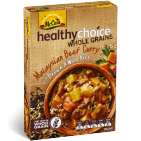 Healthy Choice Wholegrains Malaysian Beef Curry with Brown and Wild Rice 340g