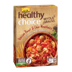 Healthy Choice Wholegrains Beef & Chia Meatballs with Wholemeal Spaghetti 350g
